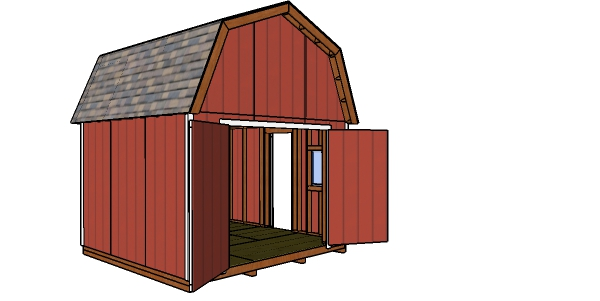 How to build a 12x12 barn shed