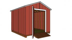 8×10 Cheap Shed Plans – Free PDF Download