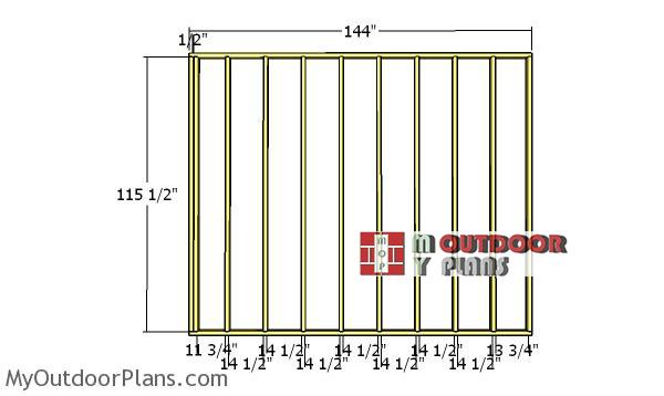 Plain-side-wall-frame