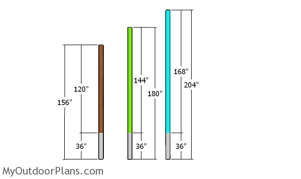 Posts - 16x24 Pole Barn Plans