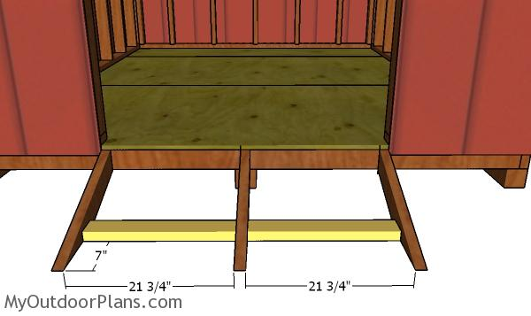 Ramp supports
