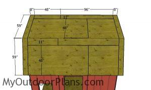 Roof sheets - 12x12 Barn Shed Plans