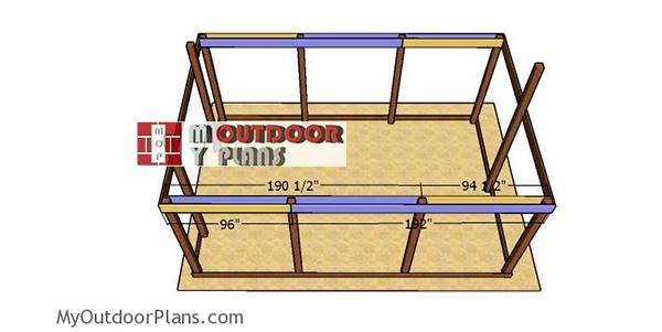 Side-band-beams