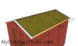 Side roof overhangs