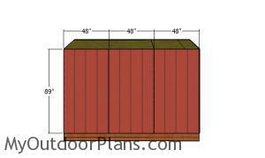 Side walls siding