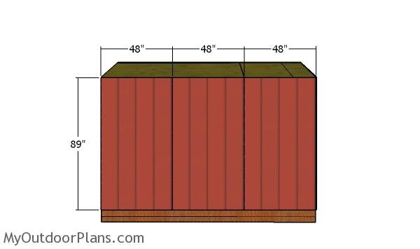 Side walls siding