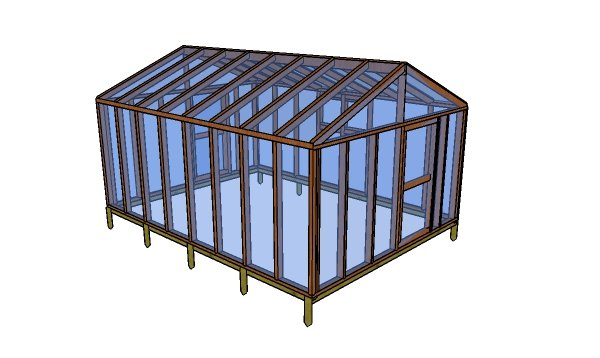 12x16 greenhouse plans