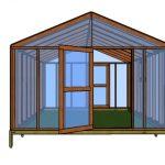 12×16 Greenhouse – Free PDF Plans