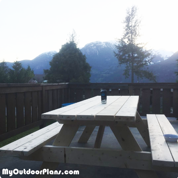 6 foot Picnic Table – DIY Project