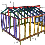 12×16 Greenhouse Plans – Part 2