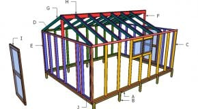 12×16 Greenhouse Plans – Part 2