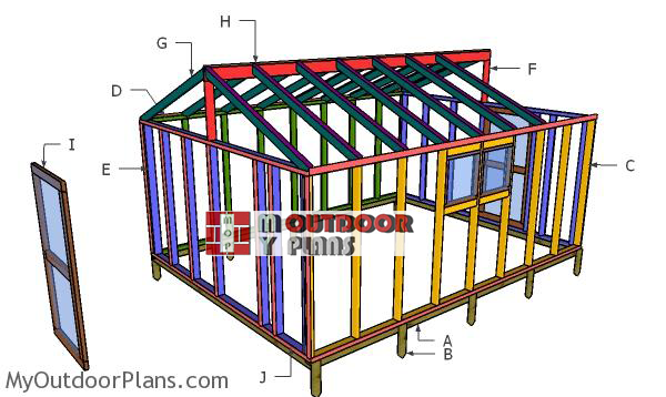 Building-a-12x16-greenhouse