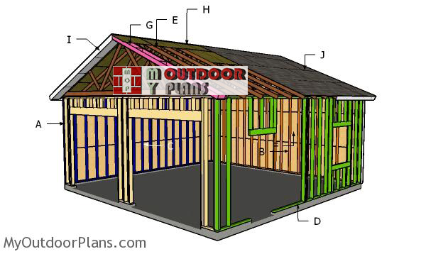 Building-a-2-car-24x24-carport