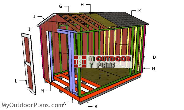 Building-a-8x12-simple-gable-shed
