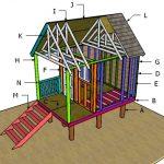 Beach Hut Roof Plans