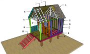 Beach Hut Roof Plans