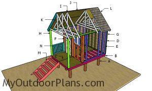 Building a beach hut