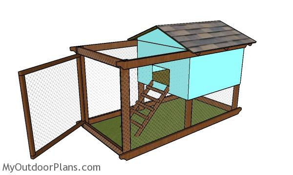 Backyard Chicken Tractor Plans