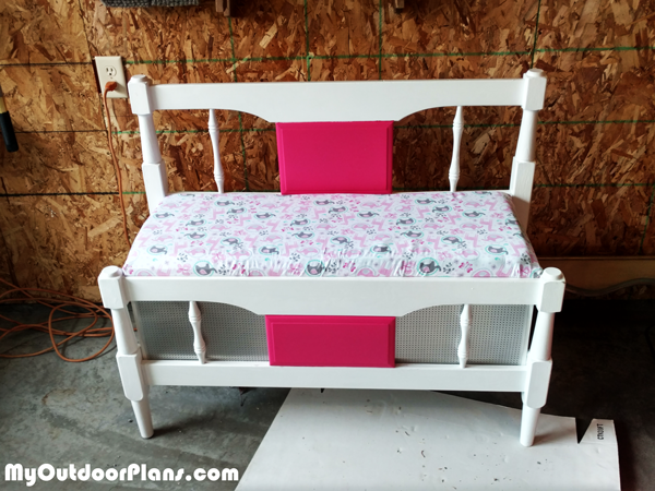 DIY Childs Toy Chest and Bench