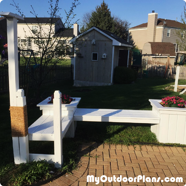 DIY-Garden-Planter-Bench