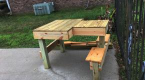DIY Double Shooting Bench