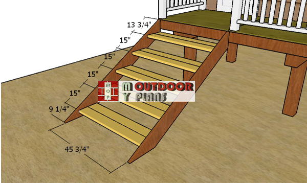 Fitting-the-steps-to-hut-ladder