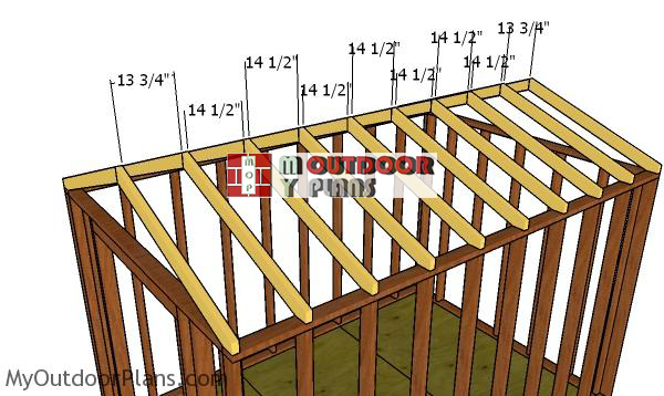 Fitting-the-trusses-8x12-cheap-shed