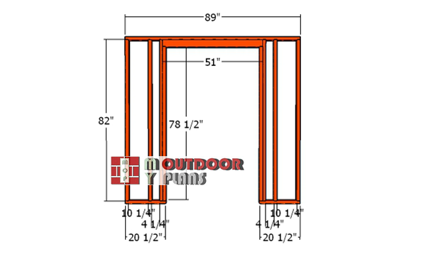 Front-wall-frame-8x12
