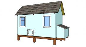 4×8 Backyard Chicken Coop Plans