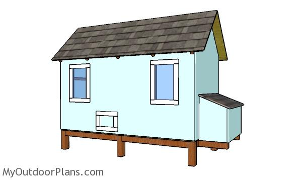 4x8 Backyard Chicken Coop Plans