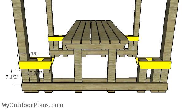 Seat braces