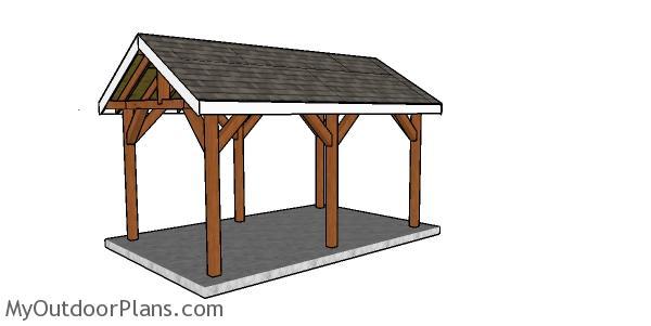 10×16 Pavilion Plans