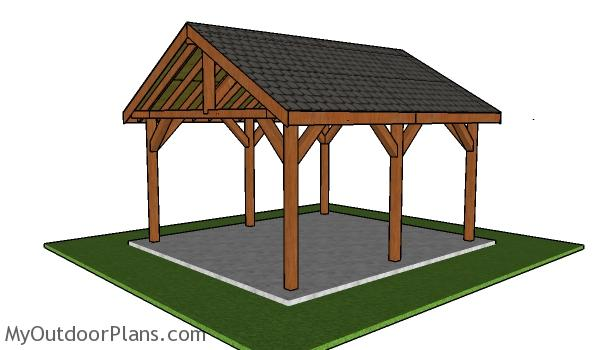 16x18 Pavilion Plans - Free Diy Guide