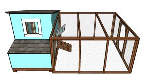8×8 Chicken Run Plans