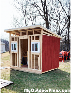 Adding-the-siding-to-the-chicken-coop