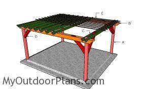 Building a 14x16 pergola