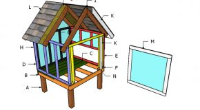 Side Nesting Box for a 4×4 Coop Plans