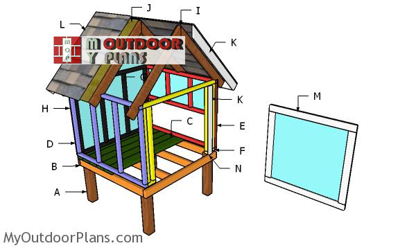 Building-a-4x4-chicken-coop