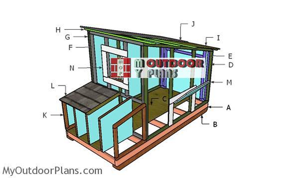 Building-a-chicken-coop