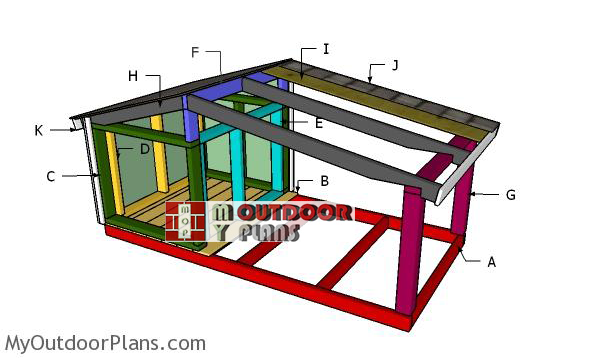 Building-a-dog-house-with-porch