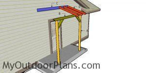 Building a front porch pergola