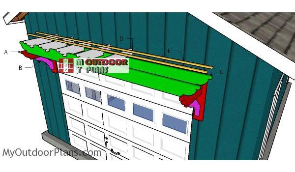 Building-a-garage-pergola