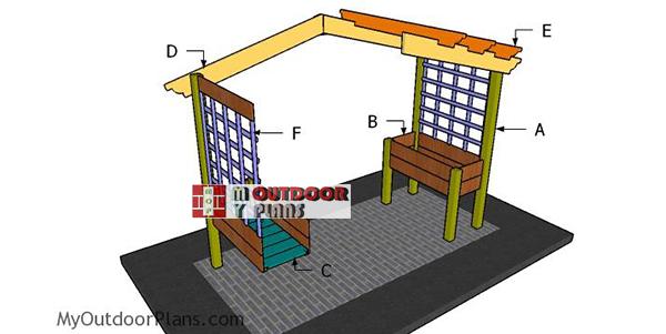 Building-a-planter-pergola