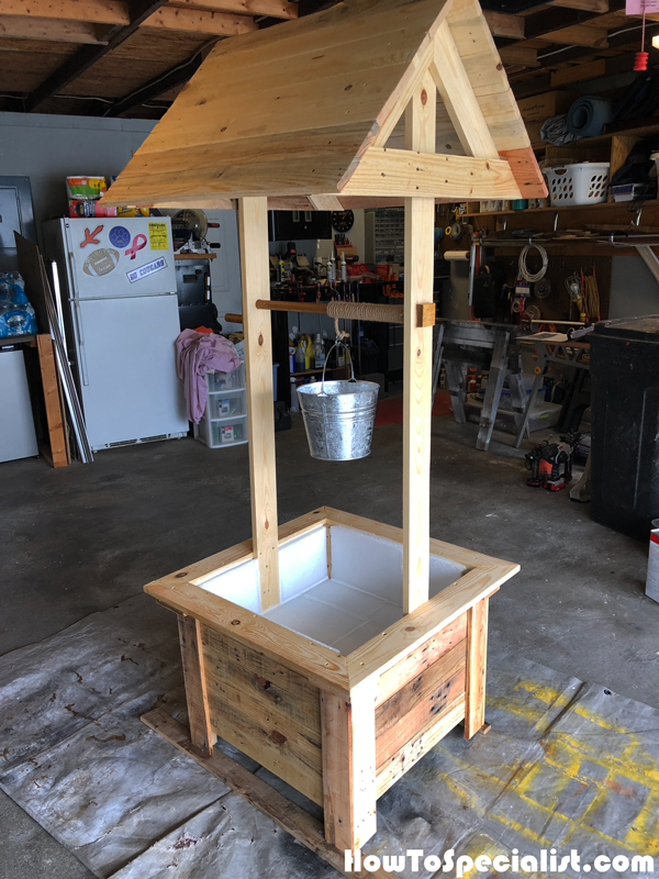 Wishing Well - DIY Project