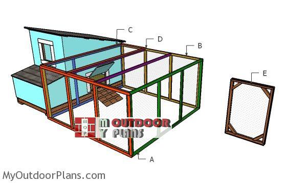Building-the-8x8-chicken-run