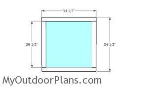 Building the front door