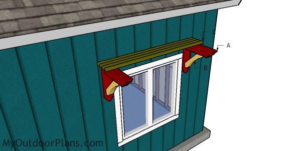Building window trellis