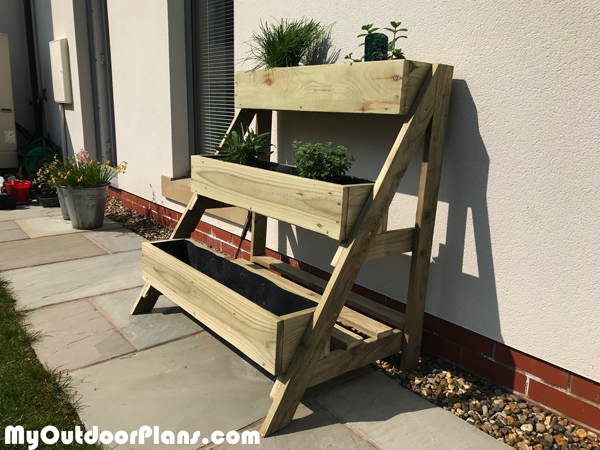 3 Tier Herb Planter - DIY Project