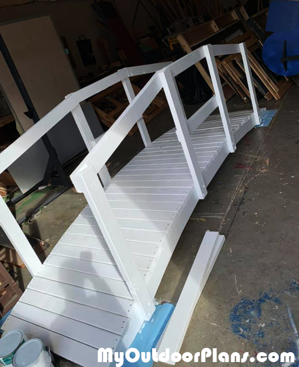 DIY Arched Bridge