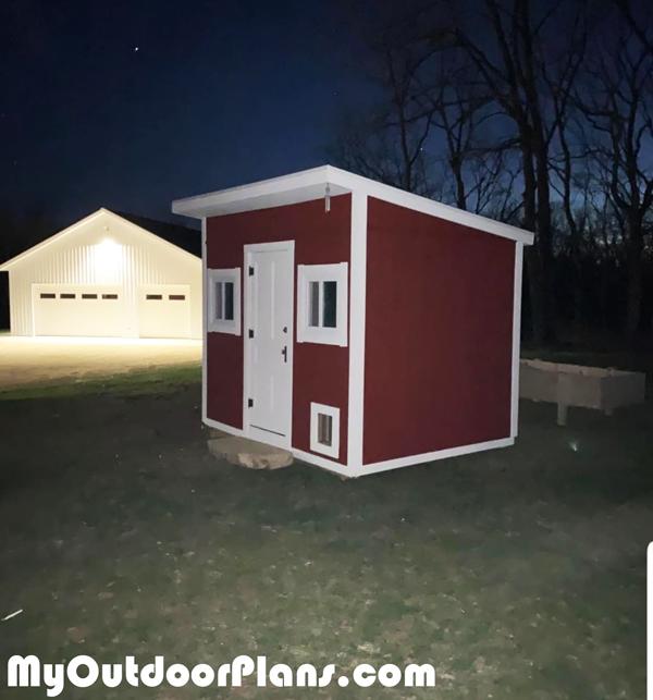DIY-Lean-to-Chicken-Coop